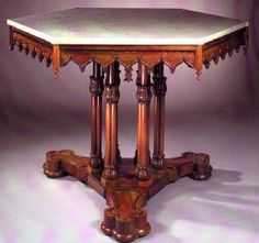 1840s gothic table
