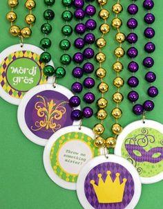 Free Printable Mardi Gras Designs
