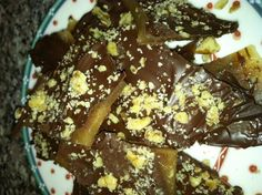 Andrea's Chocolate-Dipped Buttercrunch (Kathy Gunst/Here & Now)