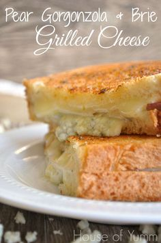 pear gorgonzola, grilled cheese sandwiches, dinner recipes