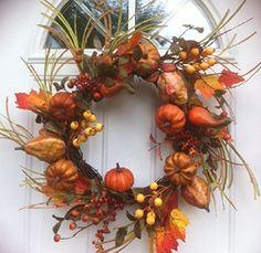 Harvest Treasure Fall Door Wreath Wreaths For Door http://www.amazon.com/dp/B00NH0G7R0/ref=cm_sw_r_pi_dp_vHSgub0M21NBA
