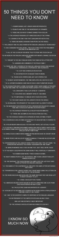 Fun Facts!!!!!