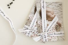 cutest babies, ribbon, birthday invitations, baby announcements, babi announc