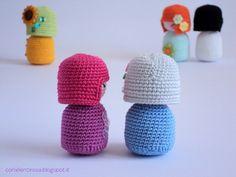 Amigurumi Crochet Pattern: Spring Kokeshi Doll