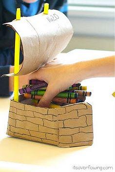 Thanksgiving Kids Craft: The Mayflower Ship #thanksgiving #crafts