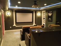 Another view from one of our favorite Skins' theater rooms by BMC