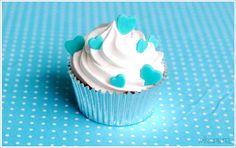 light blue, heart cupcak, cupcakes, misspetel, blue heart, blog, blues