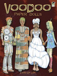 Voodoo Paper Dolls--Dover Publications