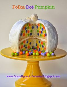 Once Upon A Pedestal: Surprise Inside Pumpkin!