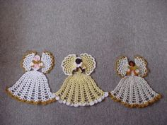 Lots of Christmas Angel's crochet patterns for free