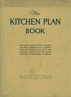 FREE DOWNLOAD  The Kitchen Plan Book - Hoosier Manuf. Co. (ca. 1920)