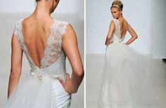 2013 Wedding Dresses with Stunning Statement Backs   OneWed