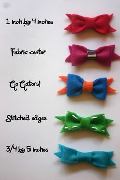 no sew bows~