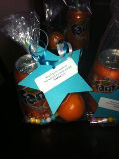 Cute cheer treat idea