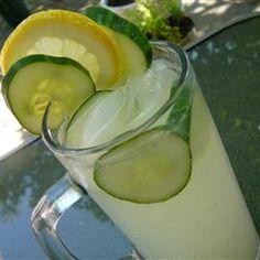Cucumber Lemonade Allrecipes.com