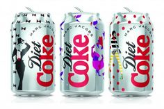 Check out the New Diet Coke x Marc Jacobs Cans