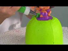 Dora the Explorer Fiesta Dress Cake ~ Video Tutorial