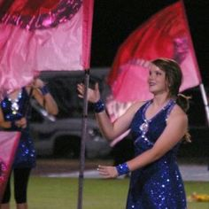 Color Guard: I LOVE these flags