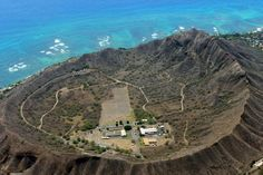 Inside Diamond Head | Hawaii Pictures of the Day Very cool picture...we usually just see the outside of Diamond Head