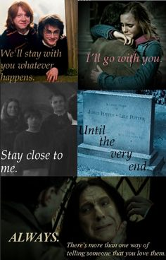 And this is what HP really is about. Love.