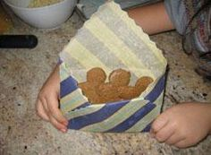 make your own reuseable food wrap - cloth and beeswax