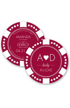 Lucky in Love Wedding Invitation by David's Bridal