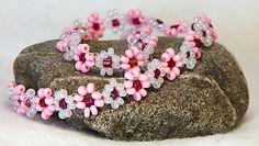 jewelleri, daisi chain, necklac daisi, daisies, daisi tutori, daisy chain, diy bracelet