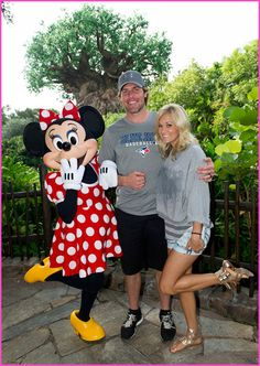 Carrie Underwood And Mike Fisher Visit Walt Disney World