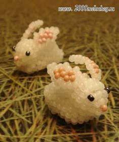 """--FreeHow-- """"""""Бисероплетение: игрушка Кролик"""