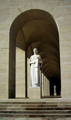 EUR statue, Rome.