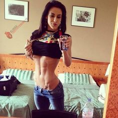 Łapcie Oreo is nice ! #workout #muscular #fitness #female #body