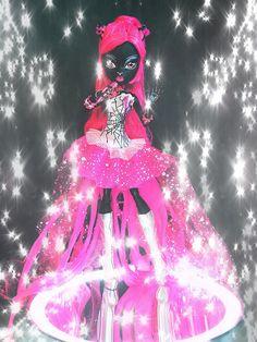 Monster High art Catty Noir