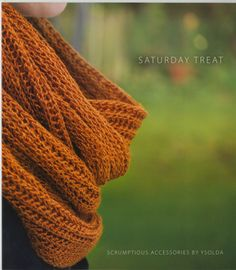 Saturday Treat from Ysolda: Saturday Treat is an exciting new collaboration between Ysolda and Fyberspates. These six accessory patterns feature yarn by Fyberspates and a color palette selected by Ysolda. Pretty little additions to your wardrobe and gifts that will be treasured, all of these patterns feature thoughtful details and clear instructions! $14.00