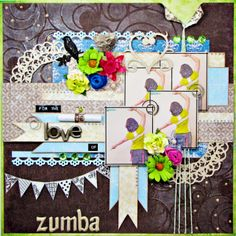For The Love of Zumba - Scrapbook.com
