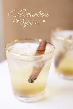 The Bourbon Epice Cocktail Recipe