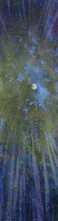 Aspen Crown Moon by Angus Macpherson
