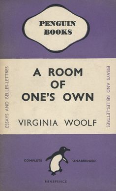 Postcards From Penguin:   100 Book Jackets in One Box - A Room of One's Own, Virginia Woolf, 1945