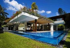 swimming pools, bourbon chicken, architects, dreams, aquariums, dream houses, roof gardens, covered porches, backyards