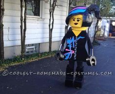 Coolest Homemade Wild Style Costume from the Lego Movie... Halloween Costume Contest