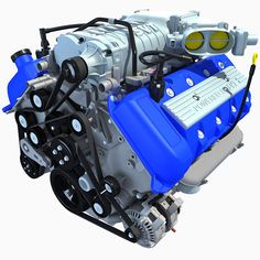 2013 Ford Shelby GT500 V8 Engine
