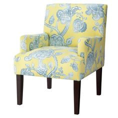 Dolce Upholstered Accent Arm Chair - Seaspray