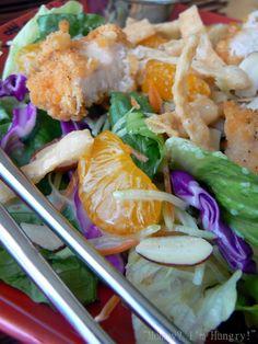 Applebees Knock-Off Oriental Chicken Salad