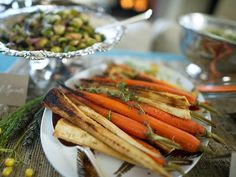 Roasted root vegetables are a hearty seasonal staple of many tables in the fall. Seasoned with olive oil, thyme and citrus, this fresh take is sure to become one of your family's favorite dishes.
