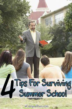 tips for surviving summer school