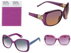 #radiantorchideyewear radiant orchid, eyewear blog, year 2014, orchid colour, fashion eyewear
