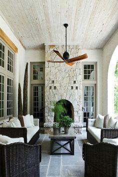 #fireplace #stone #architecture #atlanta