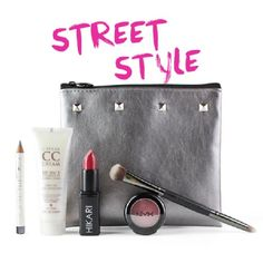 Great September glam bag from#IPSY, the bag is the cutest ever ;-)