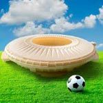 Stratasys 3D Prints World Cup Stadium for Grand Finale