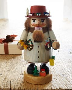 Toy Seller Nutcracker by GLAESSER at Horchow.