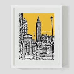 London Big Ben, $18, now featured on Fab.